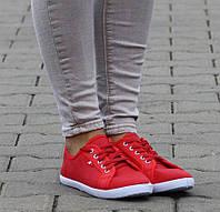 Женская спортивная обувь, кеды Riley Red!