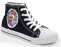Женская спортивная обувь, кеды Вiley Black!