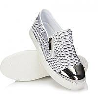 Модная и стильная женская обувь слипоны на танкетке и платформе MORIAHА!