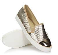 Модная и стильная женская обувь слипоны на танкетке и платформе MORDIKAI!