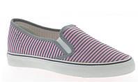 Модная и стильная женская обувь слипоны на танкетке и платформе JILL