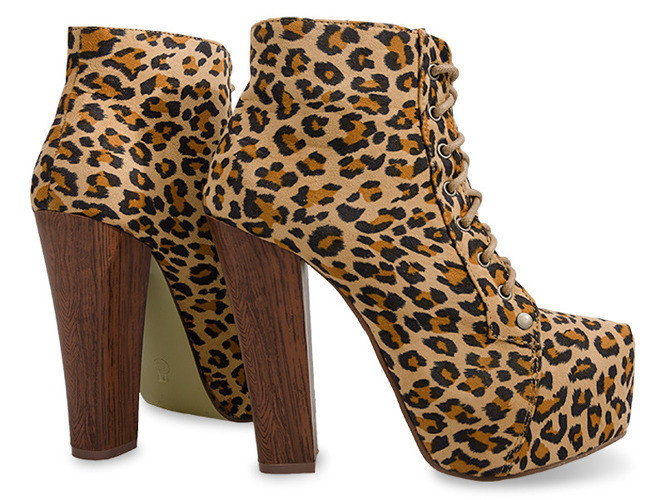 Леопардовые полуботинки на каблуке  размеры 39,40 - Naff.com.ua- товары для всей семьи. в Киеве