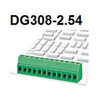 DG 308-2.54-02P-14-00AH  (terminal block)  DEGSON