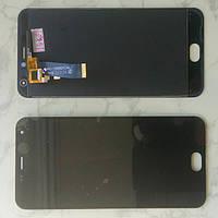 Дисплей модуль Meizu M2 Mini  в зборі з тачскріном чорний