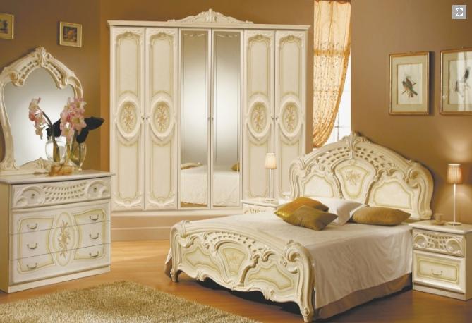 Спальня Реджина (Радика Беж) 3Д  Миромарк