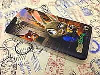TPU чехол для Huawei Honor 3C Lite Джуди Хопс