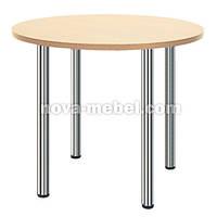 Стол KAJA - столешница ДСП круглая, фото 1
