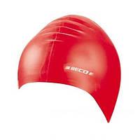Детская шапочка для плавания BECO красный 7399 5