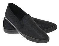 Модная и стильная женская обувь слипоны на танкетке и платформе AURORA