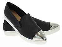 Модная и стильная женская обувь слипоны на танкетке и платформе AUSTEN