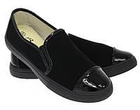 Модная и стильная женская обувь слипоны на танкетке и платформе AVALON