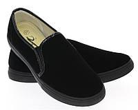 Модная и стильная женская обувь слипоны на танкетке и платформе AVERILL