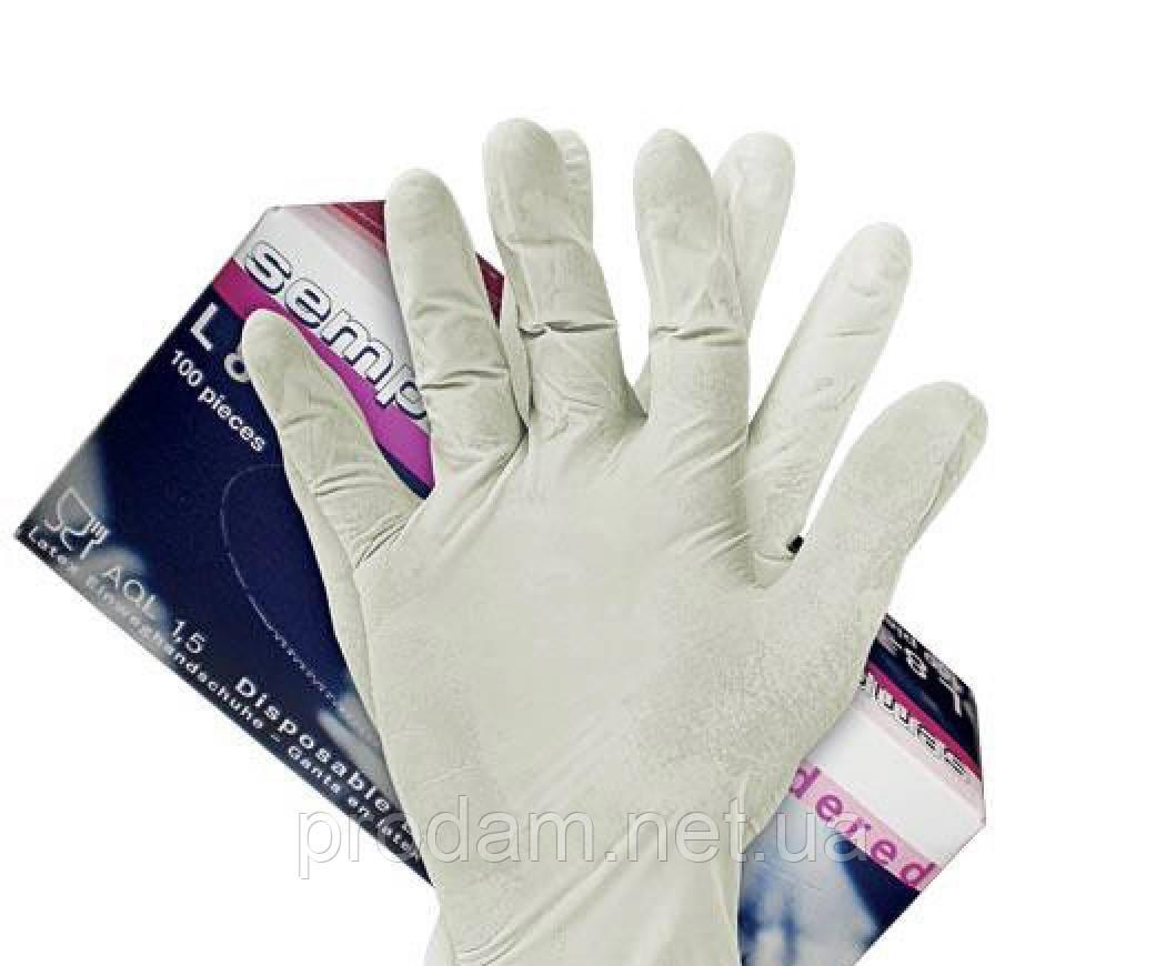 Перчатки латексные SEMPERGUARD