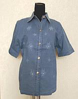 Джинсовые блузы больших размеров 52-58р. Б-3