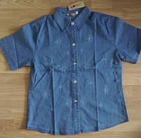 Джинсовые рубашки больших размеров 52-58р. Б-3