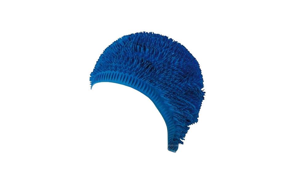 Женская шапочка для плавания BECO синий 7429 6