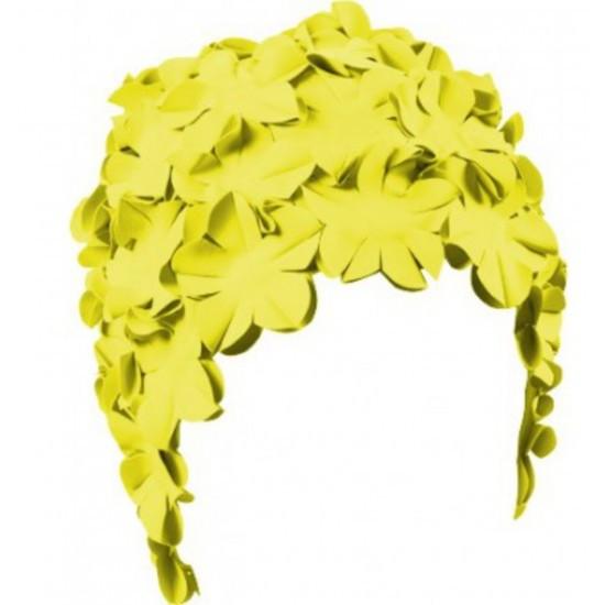 Женская шапочка для плавания BECO пастельно-желтый 7430 22
