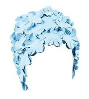 Женская шапочка для плавания BECO голубой 7430 691