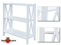 Стеллаж деревянный Прованс-3 White с бесплатной доставкой по Украине.