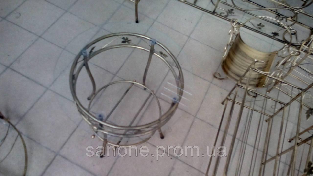 Кованый столик круглый., фото 1