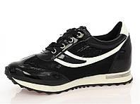Женская кроссовки, кеды на платформе