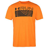 Футболка Under Armour Running Track Graphic T Shirt Mens