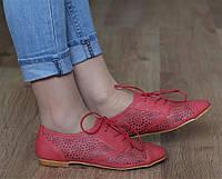 Летние Женские ботинки, ботильоны от производителя с Польши, от 36-41 размер  на шнурках