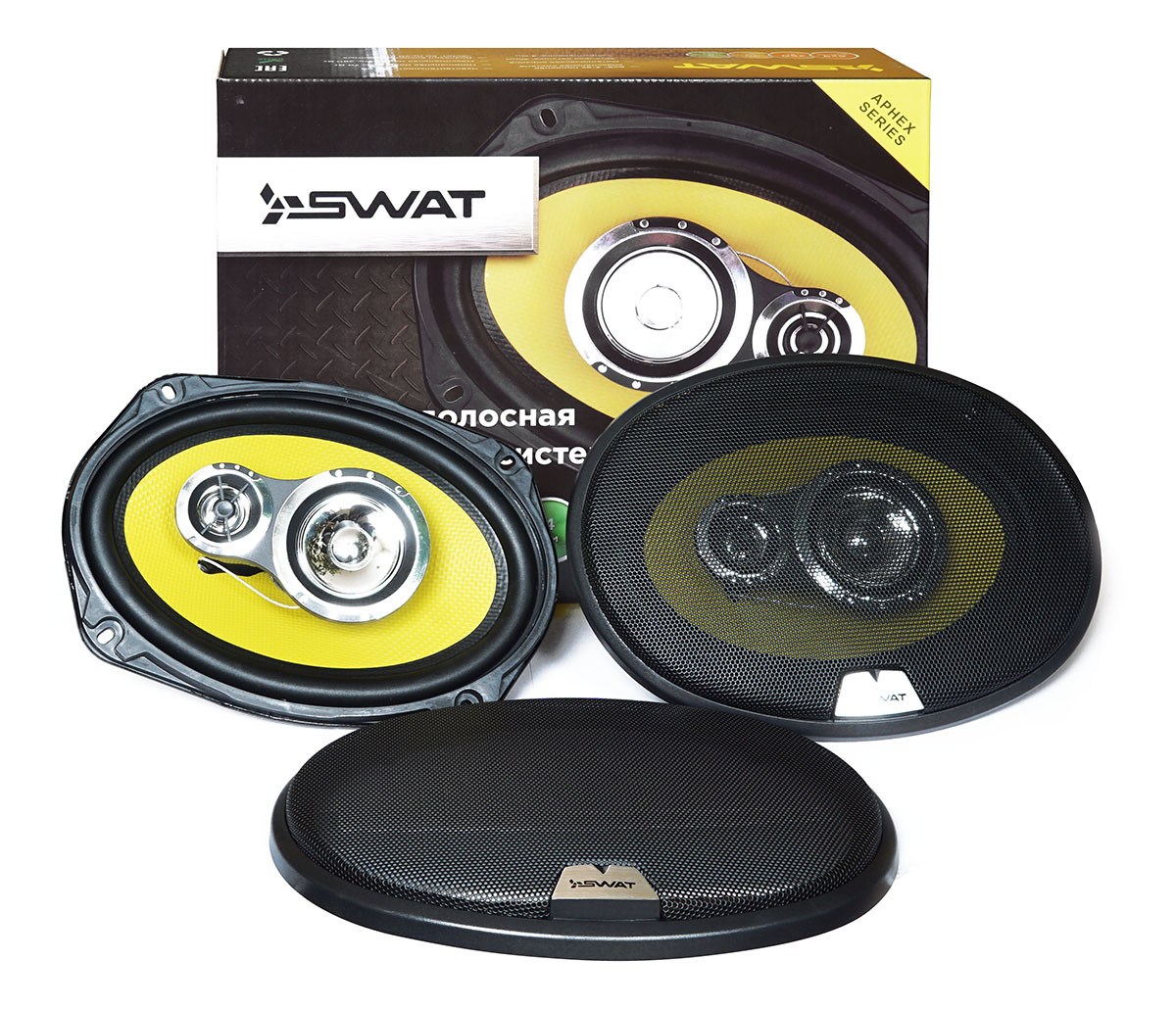 Автоакустика Swat SP-A69 280W 3х полосная