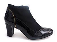Женские ботинки, ботильоны от производителя с Польши, от 36-41 размер  лакированные