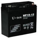 Аккумулятор U-tex 12В / 17 Ah