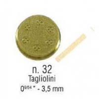 Насадка-фільєра SIRMAN Tagliolini 3,5 мм (n.32)