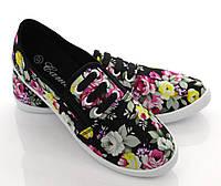 Женская спортивная обувь, кеды, конверсы, кроссовки на каждый день из текстильного материала на лето