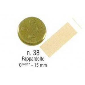 Насадка-фільєра SIRMAN Pappardelle 15 мм (n.38), фото 2