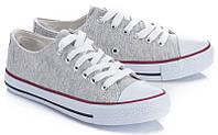 Женская спортивная обувь, кеды, кроссовки на каждый день серого цвета