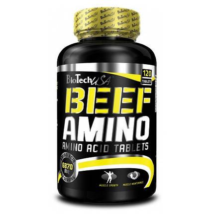 Beef Amino BioTech 120 tab, фото 2