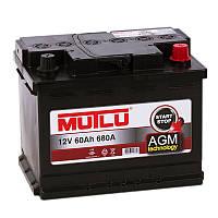 Аккумулятор Mutlu AGM Start-Stop 6CT-60Ah 60A/h 640A R+, (EU)