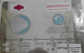 Простыня водонепроницаемая Waterproof P.E. с резинкой 200-100, фото 2