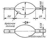 КД102А диод выпрямительный (0,1A 250V) kd30, фото 2