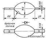 КД102Б диод выпрямительный (0,1A 300V) kd30, фото 2