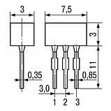 КДС111Б диод кремниевый, диффузионный (0,3A 100V) , фото 2