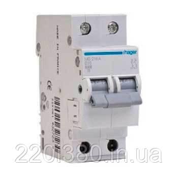 Автоматический выкл. 40А 2р, С, 6кА, MC263A HAGER