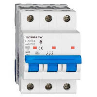 Автоматический выкл. 6кА 3Р 40А х-ка C Schrack