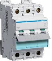Автоматический выкл. 16А 3р, С, 6кА, MC340A HAGER