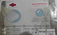 """Простыня водонепроницаемая """"Waterproof"""" Р.S. с резинкой 200-160"""