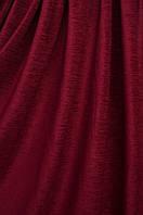 Ткань  Шинил бордо