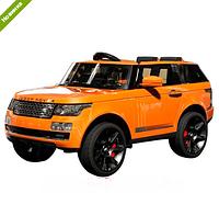 Детский электромобиль Джип Land Rover M 3153 EBRS-7 оранжевый