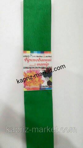 Гофрований папір, зелена