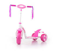 703 Самокат Milly Mally Scooter (Active) (розовый(Pink Kitty))