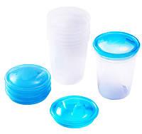 Емкость для хранения молока 4 шт. BabyOno 1028