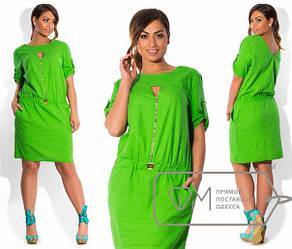 Платье льняное большого размера 50-56 разные цвета